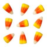 Corns конфеты хеллоуина изолированные на белизне Стоковое фото RF