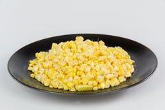 Corns на плите блока Стоковые Фото