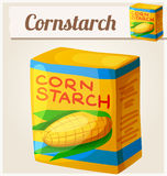 Cornstarch. Detailed Vector Icon Royalty Free Stock Photo