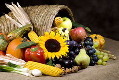 Cornucopia Royalty Free Stock Photo