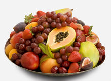 Cornucopia of fruit Royalty Free Stock Photography