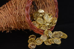 Cornucopia of Gold Royalty Free Stock Images