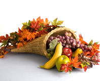 Cornucopia, the horn of plenty Stock Photo