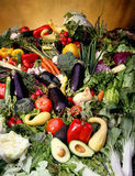Cornucopia Of Vegetables Stock Photography