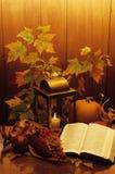 Cornucopia santa del otoño Foto de archivo libre de regalías