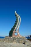 Cornucopia statua, Agios Nikolaos Zdjęcie Royalty Free