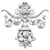 Cornucopia - un símbolo de la abundancia y de la abundancia Fotos de archivo libres de regalías