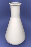 Cornue blanche en verre 3d   Photo stock