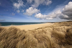 Cornwall beach. Beautiful landscape of a beach in cornwall england Stock Photography