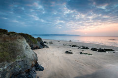 Cornwall Coast at Hayle Stock Images