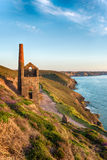 Cornwall Coast Royalty Free Stock Photo