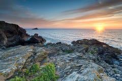 Cornwall Coast Royalty Free Stock Photo