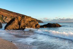 Cornwall Coastline Royalty Free Stock Image