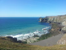 Cornwall Coastline Royalty Free Stock Photography
