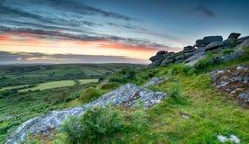 Cornwall Countryside Royalty Free Stock Photos