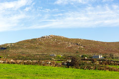 Cornwall countryside Zennor near St Ives England UK Royalty Free Stock Image