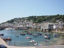 Cornwall-Dorfhafen Stockfotos