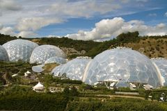 Cornwall Eden Project Royalty Free Stock Photo