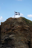 Cornwall Flag Stock Photo