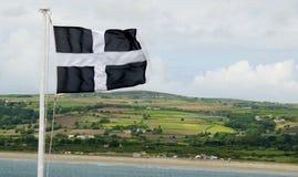 Cornwall-Flagge Lizenzfreies Stockbild