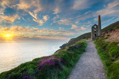Cornwall-Küste Lizenzfreies Stockfoto