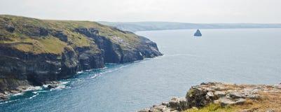 Cornwall-Küste stockfotos