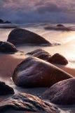 Cornwall-Küstenlinie lizenzfreies stockfoto