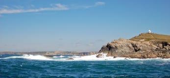 Cornwall kust Fotografering för Bildbyråer