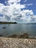 Cornwall kust Arkivfoton