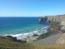 Cornwall linia brzegowa Fotografia Royalty Free