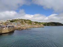 Cornwall Mevagissey hamn Royaltyfria Bilder