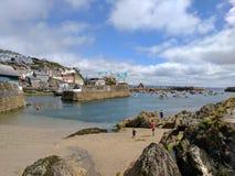 Cornwall Mevagissey hamn Royaltyfri Fotografi