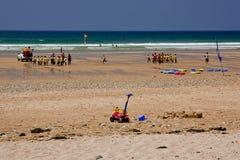 Cornwall, Newquay Lizenzfreie Stockfotos