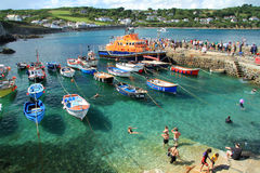 Cornwall RNLI Celebration Stock Images
