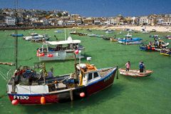 Cornwall, St Ives Royalty Free Stock Photos