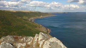 Cornwall vind royaltyfri foto