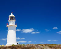 Corny Point Lighthouse Stockfoto
