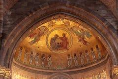 Coro da catedral de Strasbourg Imagem de Stock Royalty Free