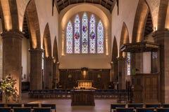 Coro da igreja de Greyfriars, Edimburgo, Escócia, Reino Unido imagens de stock