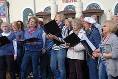 Coro de la comunidad de las ondas acústicas, Hastings Foto de archivo libre de regalías