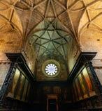 Coro de la iglesia del monasterio de Jeronimos Imagen de archivo