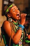 Coro del vangelo di Soweto Immagine Stock