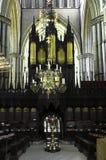 Coro della cattedrale di Lincoln Fotografia Stock Libera da Diritti