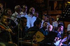Coro di musica classica del centro di istruzione pubblica Immagine Stock Libera da Diritti