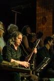 Coro di musica classica del centro di istruzione pubblica Fotografia Stock