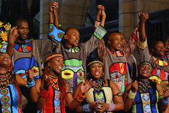 Coro do gospel de Soweto Fotografia de Stock Royalty Free