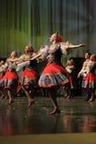 Coro dos povos do russo do estado de Omsk fotografia de stock