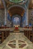 Coro e contesto sotto la cupola della cattedrale di Galway, Irlanda Fotografia Stock
