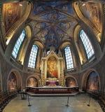 Coro ed altare della cattedrale di Turku, Finlandia Immagine Stock Libera da Diritti