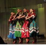 Coro popular ruso del estado de Omsk fotografía de archivo libre de regalías